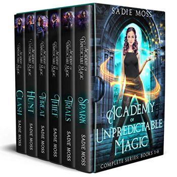 Academy of Unpredictable Magic: Complete Series (Books 1-6)