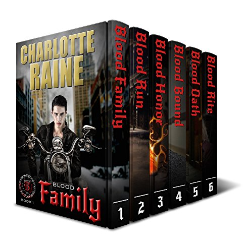 Titanium Blood Box Set: Complete Six Books - A Paranormal Shifter Romance Book (Bad Boy Motorcycle Club Romance) (MC Biker Romance)