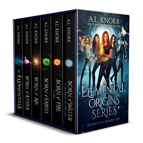 Elemental Origins: The Complete Series Bundle: (Water, Fire, Earth, Air, Aether, Ensemble Novel) (The Elemental Origins Series)