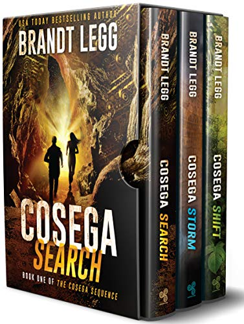 The Cosega Sequence - Books 1-3: An Archaeological TechnoThriller