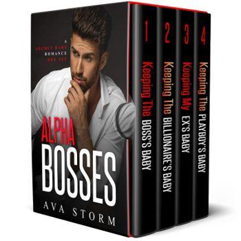 Alpha Bosses: A Secret Baby Romance Box Set